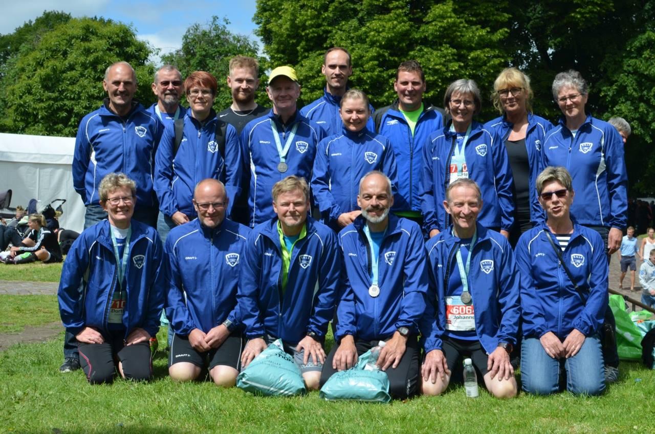 Team SOIF ved Aarhus City Halvmarathon 21. juni 2015